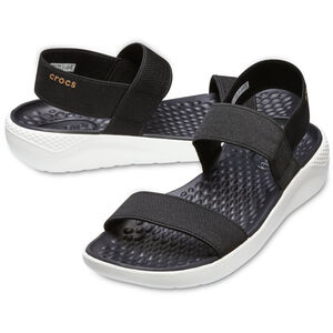 Crocs LiteRide Sandals Damen black/white black/white