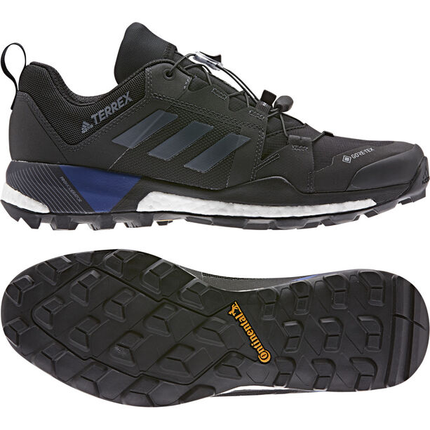 adidas TERREX Skychaser XT GTX Low-Cut Schuhe Herren core black/grey three/collegiate royal