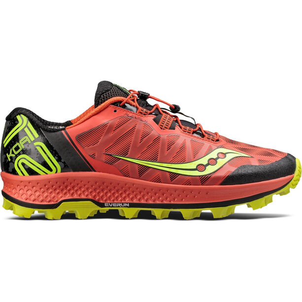 saucony Koa ST Shoes Herren Orange/Citron