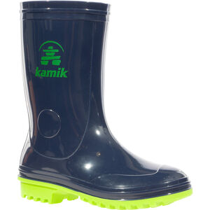 Kamik Pebbles Rubber Boots Kinder navy lime navy lime