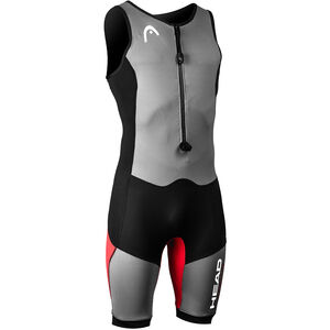 Head Swimrun MyBoost Lite Wetsuit Damen black-silver-red black-silver-red