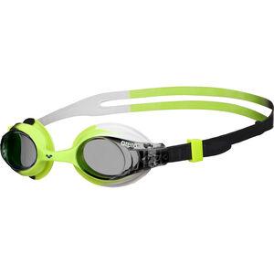 arena X-Lite Goggles Kinder smoke-green-black smoke-green-black