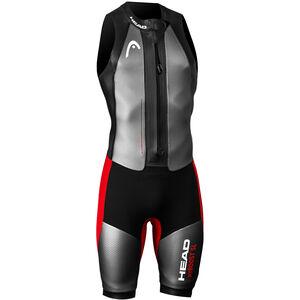Head Swimrun MyBoost SL Wetsuit Herren black-silver-red black-silver-red