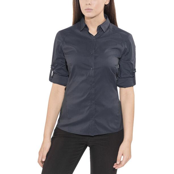 Arc'teryx Fernie LS Shirt Damen black sapphire
