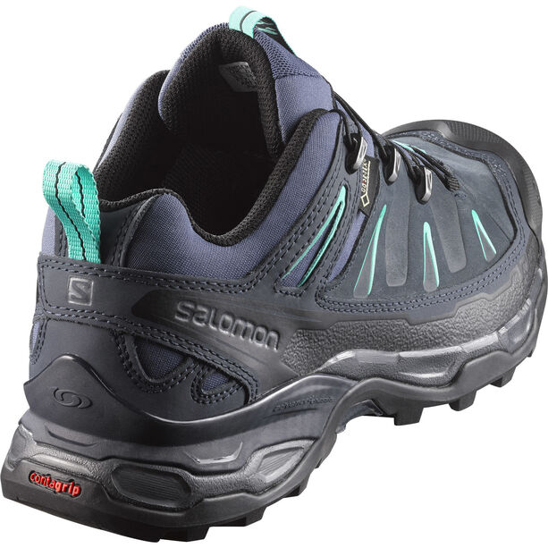 Salomon X Ultra LTR GTX Hiking Shoes Damen slateblue/deep blue/spa blue