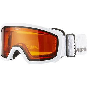 Alpina Scarabeo Doubleflex S2 Goggles Kinder white white