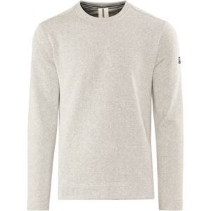 super.natural Vacation Rundhals-Strickpullover Herren grey melange grey melange