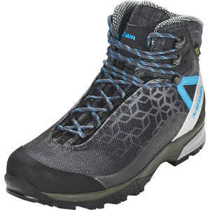 Lowa Lyxa GTX Mid Shoes Damen anthracite/blue anthracite/blue