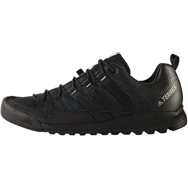 adidas TERREX Solo Approach Shoes Herren dark grey/core black/ch solid grey