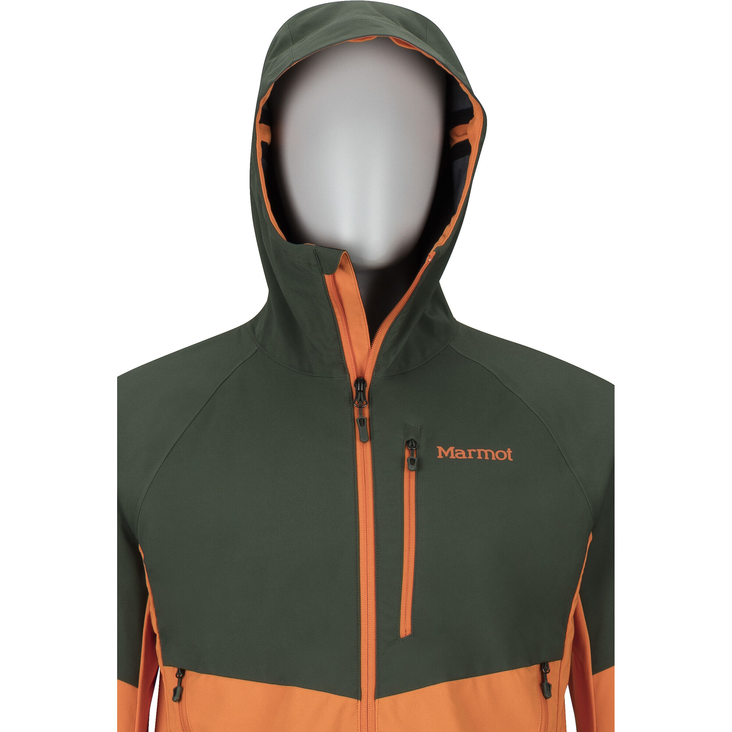 Marmot ROM Jacke Herren crocodilemandarin orange