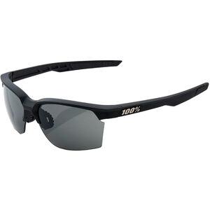 100% Sportcoupe Smoke Glasses soft tact black soft tact black