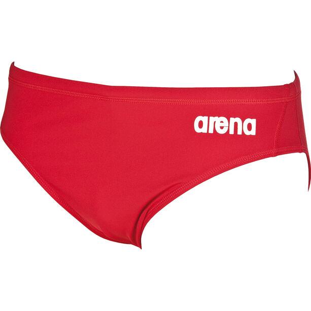 arena Solid Brief Herren red/white