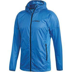 adidas TERREX Agravic Alpha Jacket Herren shock blue shock blue
