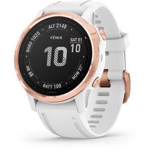 Garmin Fenix 6S Pro Smartwatch white/rose gold white/rose gold