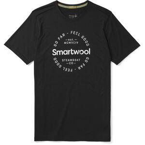 Smartwool Merino Sport 150 Go Far Feel Good Kurzarm T-Shirt Herren black black
