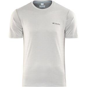 Columbia Zero Rules SS Shirt Herren columbia grey heather columbia grey heather