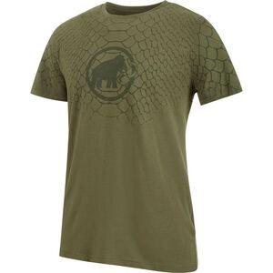 Mammut Logo T-Shirt Herren olive PTR1 olive PTR1