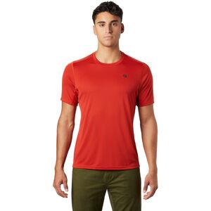 Mountain Hardwear Wicked Tech Kurzarm T-Shirt Herren desert red desert red