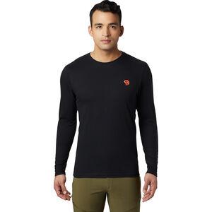 Mountain Hardwear Dome Degrees Langarmshirt Herren black black