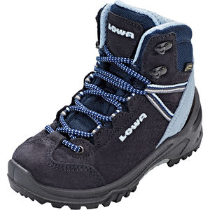 Lowa Ledro GTX Mid Shoes Kinder navy/light blue navy/light blue