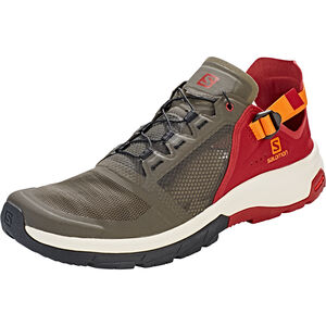 Salomon Techamphibian 4 Shoes Herren beluga/russet orange/red dahlia beluga/russet orange/red dahlia