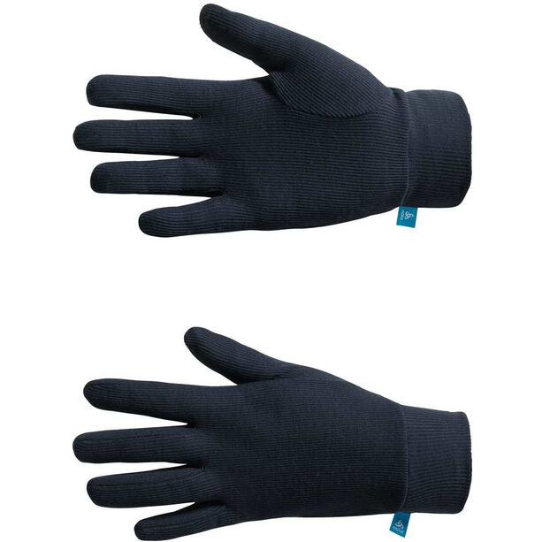 Odlo Warm Print Handschuhe navy new