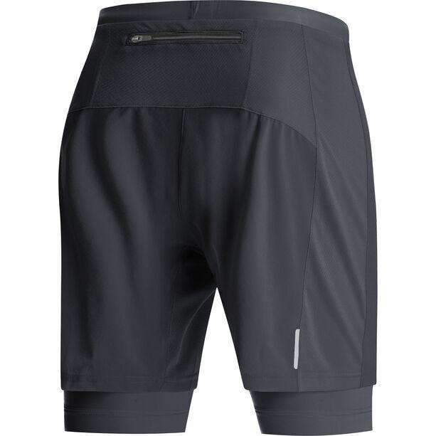 GORE WEAR R5 2in1 Shorts Herren black