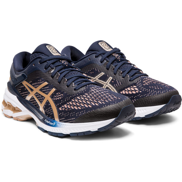 asics Gel-Kayano 26 Shoes Women midnight/frosted almond