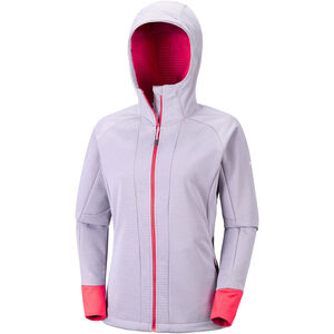 Columbia Steel Cliff Softshell Kapuzenjacke Damen astral heather astral heather