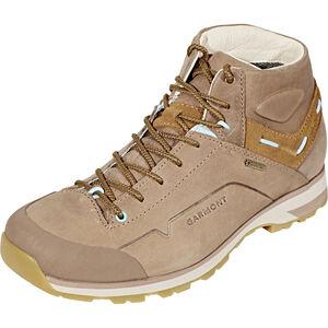 Garmont Miguasha Nubuk GTX Mountaineer Shoes Damen beige/light blue beige/light blue