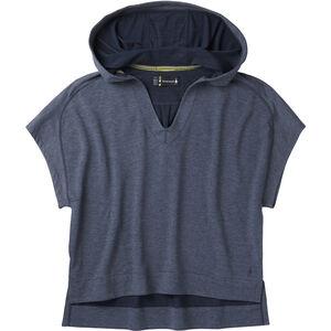 Smartwool Active Reset Hooded Pullover Damen deep navy heather deep navy heather
