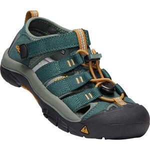 Keen Newport H2 Sandals Jugend green gables/wood thrush green gables/wood thrush