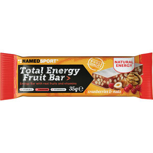 NAMEDSPORT Total Energy Fruchtriegel Box 25x35g Cranberry & Nuts