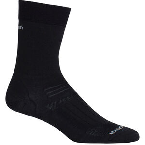 Icebreaker Hike Ultra Light Liner Crew Socks Damen black black