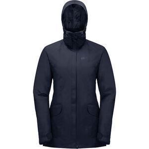 Jack Wolfskin Kiruna Trail Jacket Damen midnight blue midnight blue