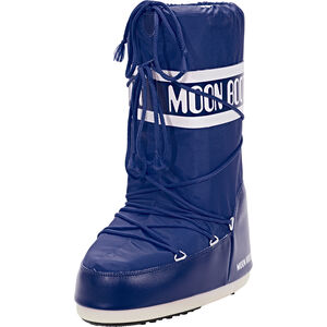 Moon Boot Nylon Stiefel blue blue