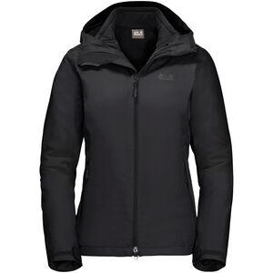Jack Wolfskin Gotland 3in1 Jacke Damen black black