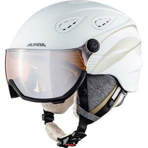 Alpina Grap Visor 2.0 HM Ski Helmet white-prosecco matt white-prosecco matt