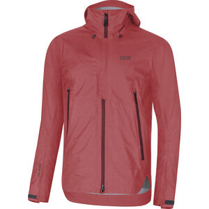 GORE WEAR H5 Gore-Tex Active Hooded Jacket Herren red/chestnut red red/chestnut red