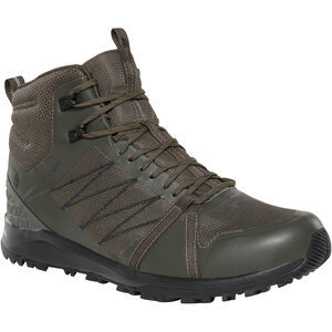 The North Face Litewave Fastpack II Mid GTX Shoes Herren new taupe green/tnf black new taupe green/tnf black