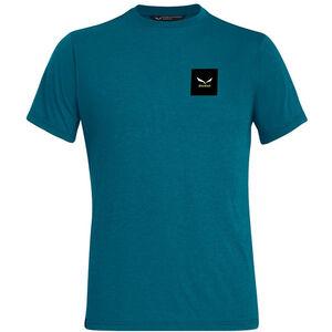 SALEWA Small Box Dri-Release Kurzarm T-Shirt Herren malta melange malta melange