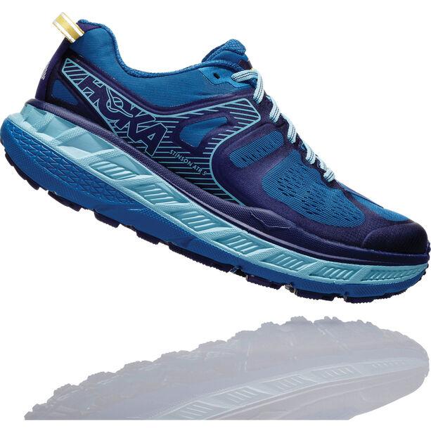 Hoka One One Stinson ATR 5 Running Shoes Damen seaport/aqua haze