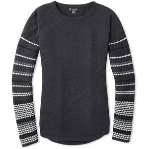 Smartwool Shadow Pine Rundhals-Sweater Damen charcoal heather charcoal heather