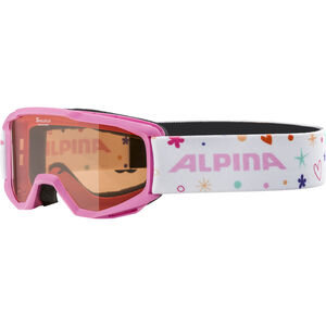 Alpina Piney Brille Kinder rose-rose/orange rose-rose/orange