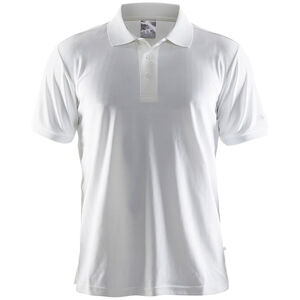 Craft Classic Polo Pique Shirt Herren white