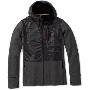 Smartwool Merino Sport Hybrid Full-Zip Fleece Hoodie Herren charcoal heather charcoal heather