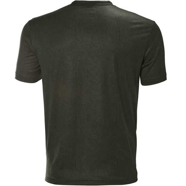 Helly Hansen Lomma T-Shirt Herren forest night print