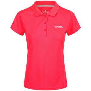 Regatta Maverick IV SS Shirt Damen neon pink neon pink