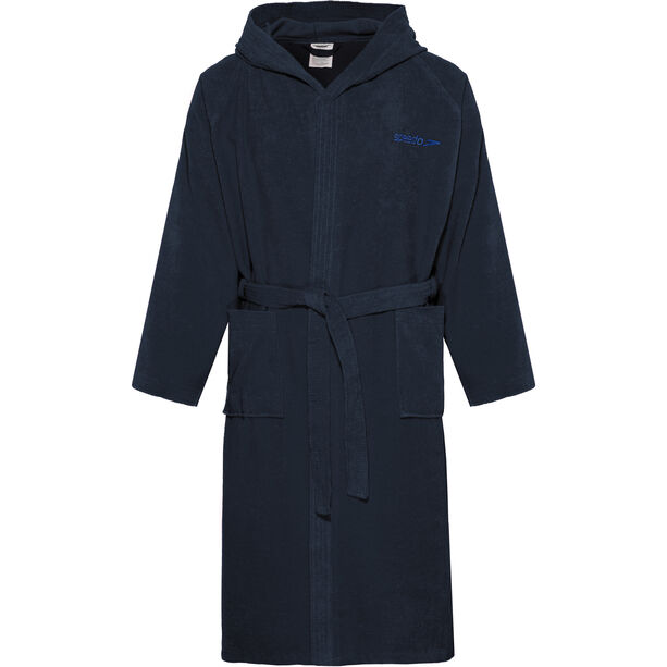 speedo Microterry Bathrobe navy