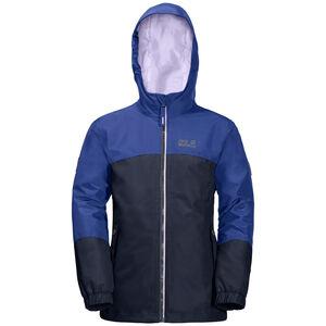 Jack Wolfskin B Iceland 3in1 Jacket Kinder blueberry blueberry